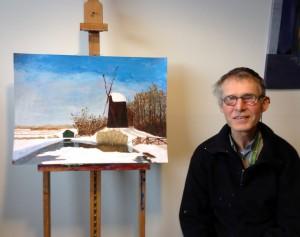 Piet Tom Smit schilder van de maand, april 2015